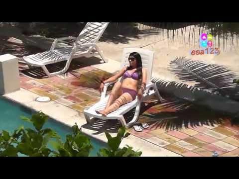 Turismo. Hotel y Restaurante Santa Fe. Playa El Majahual La Libertad El Salvador Centroamerica