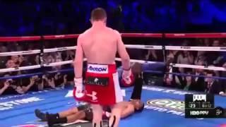 Canelo Alvarez v Amir Khan Knockout