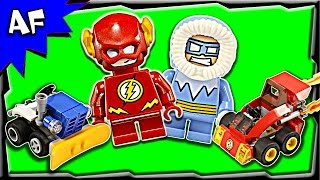 Lego Flash vs Captain Cold Mighty Micros 76063 Stop Motion Build Review