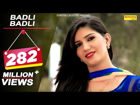Haryanvi Songs - Badli Badli Laage || Sapna - Vickky Kajla || Latest Song 2016 || बदली बदली लागे