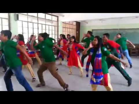 Final practice for Flash Mob,IER 17, University of dhaka.
