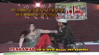 Pashto Stage Song With Dance - Dubai Musical Show 04 - Pushto Hit Stage Show