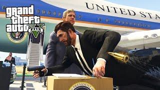 SAVING THE PRESIDENT!! (GTA 5 Mods)