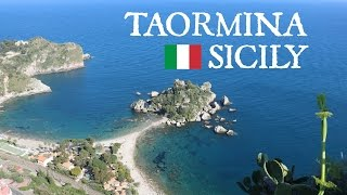 Sicily Day 2 - Things to see in TAORMINA (CANON 750D)