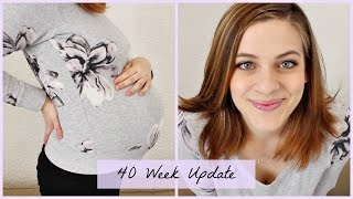 40 Week Pregnancy Update | Hilarious Home Induction Methods | Patricia B