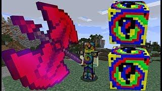 Minecraft Lucky Block MOD SPİRAL ŞANS BLOKLARI