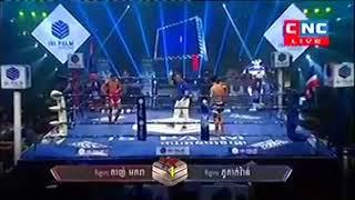 សងសឹកបានសម្រេច Thun Makara vs Phutakvan (Thai) CNC Khmer boxing 25/11/2018