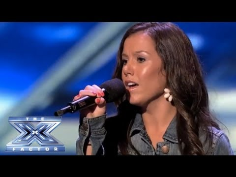 Brandie Love Sings Up to the Mountain and Takes Simon to Church THE X FACTOR USA 2013