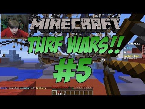 Minecraft Turf Wars IT S RAINING ARROWS