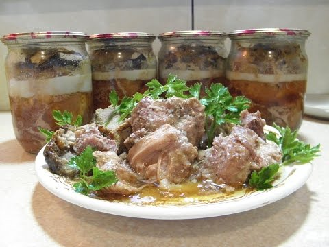Тушенка домашняя из свинины как приготовить в домашних условиях