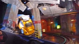 Transformers: The Ride 3D - Low Light (60FPS) at Universal Studios Hollywood!