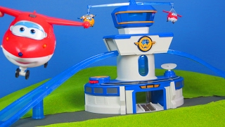Super Wings - Jett & Donnie neue Kommando Station | Mehr Transforming Super Wings Kinderkanal
