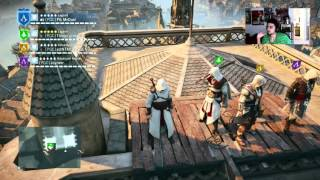 Altair, Ezio, Connor, and Edward Altogether! | Assassins Creed Unity!