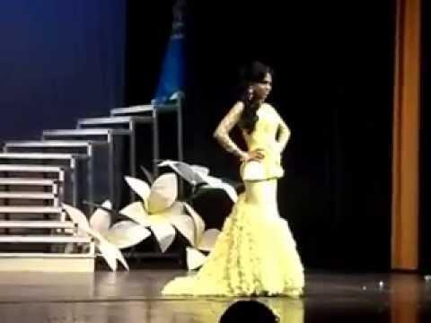 Miss Gay Nicaragua 2013 Traje De Noche