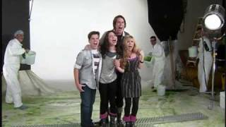 iCarly Behind the Scenes:  Getting Slimed