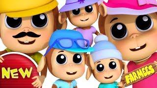Monkey Finger Family | Kids Nursery Rhymes | Baby Songs | Rhyme For Children