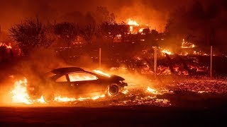 BREAKING Something Strange going on Deliberate California wildfires ? 250k evacuated 11/10/18