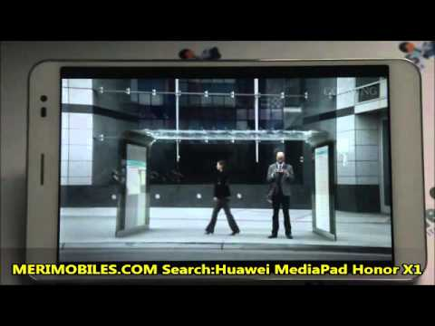 Huawei MediaPad Honor X1 7.0Inch 1920*1200P Quad-core 1.6GHz Android 4.2 3G WCDMA Tablet PC