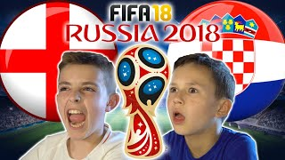 WORLD CUP 2018 SEMI FINAL | ENGLAND VS CROATIA | FIFA 18 SCORE PREDICTOR!