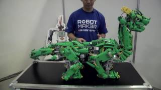 SI3RRA & STRYD3R - LEGO dragons by Lee - LEGO MINDSTORMS Inspiration