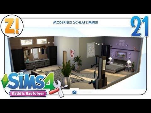 Sims 4 - Kaddi's Baufolgen: Modernes Schlafzimmer ohne Packs & Downloads #21 | Let's Play [DEUTSCH]