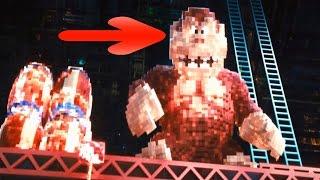 Errores, curiosidades y secretos de Pixels / Píxeles