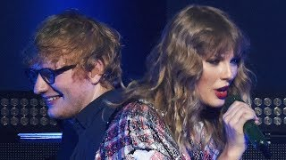 Taylor Swift & Ed Sheeran SURPRISE Crowd With First End Game Performance