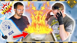 Setting ICE on FIRE with Science
