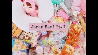 JAPAN HAUL  PT. 1| Clothing, Makeup, Skincare & other Cute Stuff...
