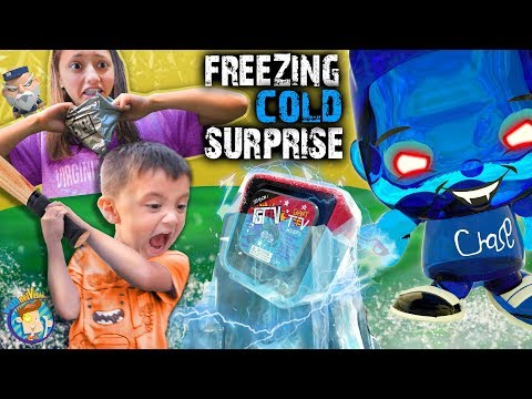 DON T PRESS THAT BUTTON FV Family Freezing Cold Surprise