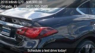 2016 Infiniti Q70 3.7 AWD 4dr Sedan for sale in Orlando, FL
