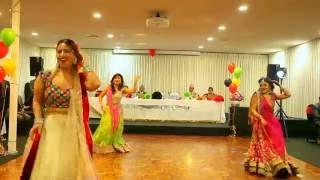 Wedding Group Dance Performance