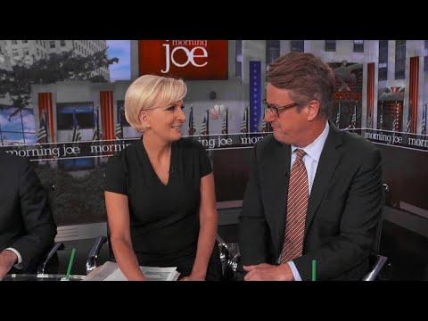 Joe Scarborough and Mika Brzezinski of Morning Joe