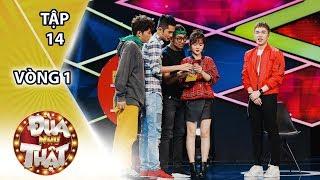 Đùa Như Thật Tập 14 Vòng 1: Ribi Sachi, Thái Vũ, Huỳnh Phương, Woossi giành chiến thắng ngay vòng 1
