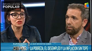 Gisela Marziotta ubicó a Pablo Duggan
