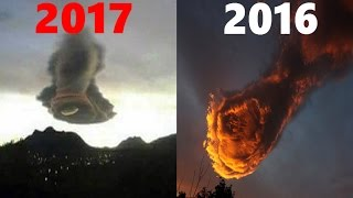 """""""Hand of God"""" Cloud Appears over Mexico Almost Exactly a Year Since the Portugal """"Hand of God"""""""