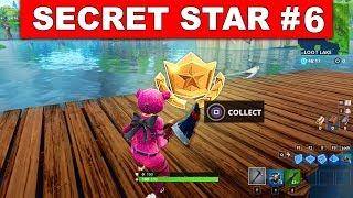 SECRET BATTLE STAR WEEK 6 SEASON 5 LOCATION! - Fortnite Battle Royale (Road Trip Challenges)
