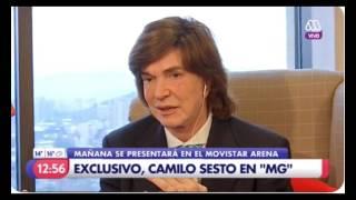 Camilo Sesto en chile, entrevista en canal 13 santiago abril 12 2017