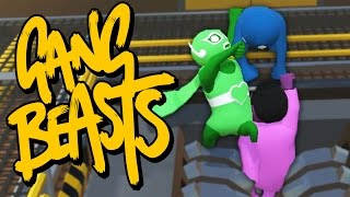 I WHIP MY CAPE BACK AND FORTH | Gang Beasts Online