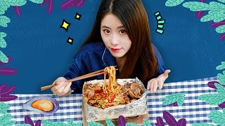 E54 How To Cook Spicy Clam Rice Noodles In Office?   Ms Yeah