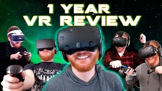 1 year of VR: My journey so far