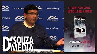 D'Souza shuts down student accusing Trump of being a fascist