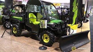 2016 John Deere Gator XUV 825i Utility ATV - Walkaround - 2015 Toronto Snowmobile & ATV Show