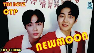THE BOYZ CHANHEE AND KEVIN MOMENT - NEWMOON (OTP)