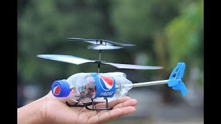 How To Make a Helicopter - Flying Bottle Helicopter