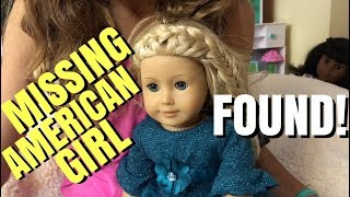 Missing American Girl Doll FOUND!!!