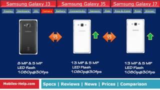 Galaxy J3 vs Galaxy J5 vs Galaxy J7 - Which is Better?