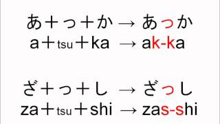 Learn Japanese from Scratch 1.1.8 - y vowel and double consonants in Hiragana