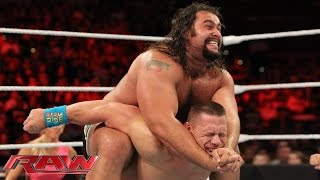 John Cena vs. Rusev - United States Championship Match: Raw, July 13, 2015