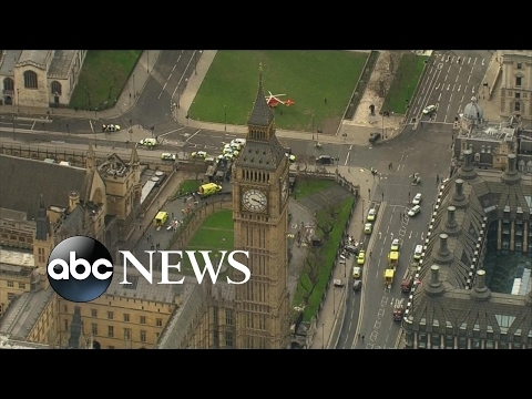 Attack near UK Houses of Parliament being treated as terrorism Police